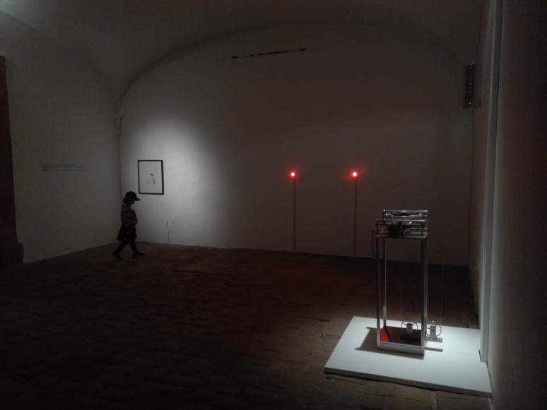 Anna Ceeh, Máquina Del Tiempo, 2020, installation view, Museo de la Ciudad, Santiago de Queretaro, Mexico